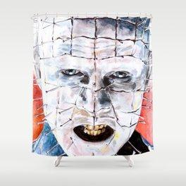 Pinhead  Shower Curtain