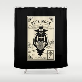 BLCK MGCK Shower Curtain