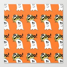 Ghosts Say Boo Canvas Print