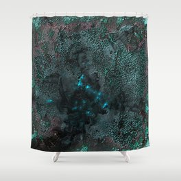 Dying Shade Shower Curtain