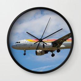 Iberian Airbus A320 Wall Clock