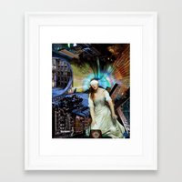 meme Framed Art Prints featuring Meme #7 by Meme Dreams