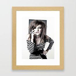 squared.  Framed Art Print