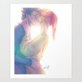 Blissful oblivion Art Print