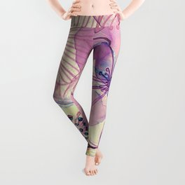 FLORAL PATTERN30 Leggings