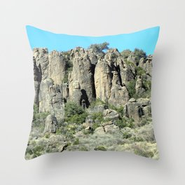 Fort Davis Historical Site Throw Pillow