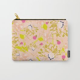Energizing spring summer flowers Carry-All Pouch