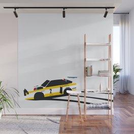 Quattro Slide Rally Car Wall Mural