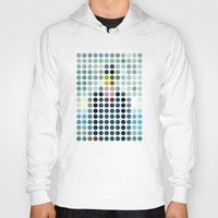 magritte Hoodies featuring Rene Magritte by Gary Andrew Clarke