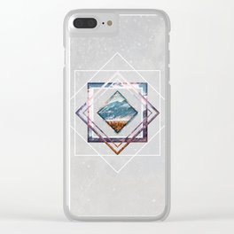 Refreshing heat Clear iPhone Case