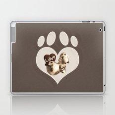 Puppy Love - Sketch Style Laptop & iPad Skin