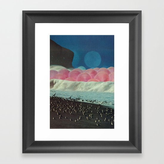 the time it takes to heal Framed Art Print