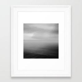 Calm Sea Framed Art Print