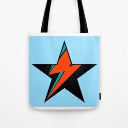 Bowie BlackStarDust (Blue) Tote Bag