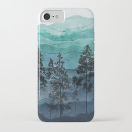 Mountains II iPhone Case