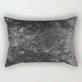 Charcoal skies velvet Rectangular Pillow