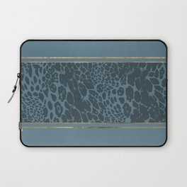 Blueprint and Animal texture 1 Laptop Sleeve