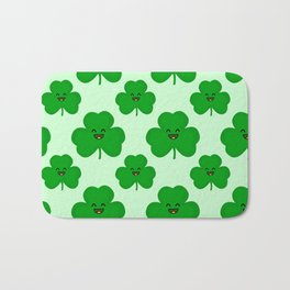 Happy Shamrock Bath Mat