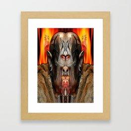 MOLECH Framed Art Print