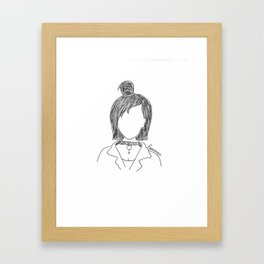 Chokers are In. Framed Art Print