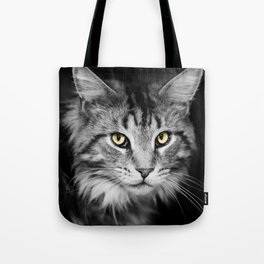 Demon Eyes Tote Bag