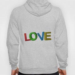 Colorful LOVE Hoody