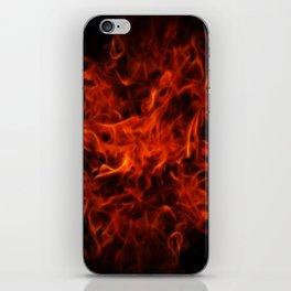 Fractal Flame iPhone Skin