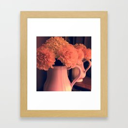 Flower art Framed Art Print