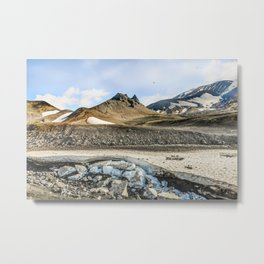 """Extrusion """"Camel"""" at the foot of the Avachinsky volcano Metal Print"""
