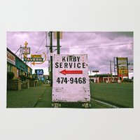 kirby Area & Throw Rugs featuring Kirby service sign by Vorona Photography