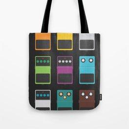 Guitar Effects Tote Bag