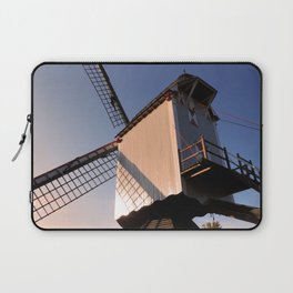1745 Windmill sundown Laptop Sleeve