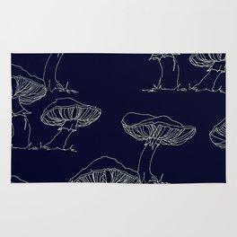Mushroom Pattern II Rug