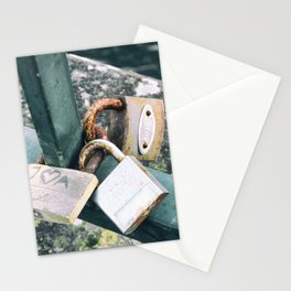 Love Locks Stationery Cards