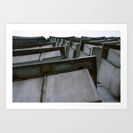 2010 - Concrete Balcony Jungle Art Print
