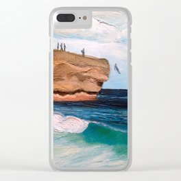 Shipwreck Rock, Kauai Clear iPhone Case