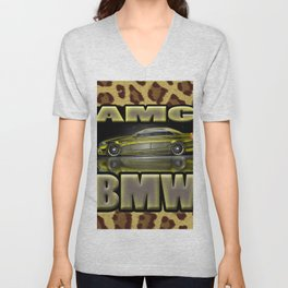 Car - Eurocar Unisex V-Neck