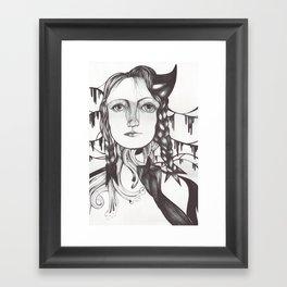 Recuerdos Framed Art Print
