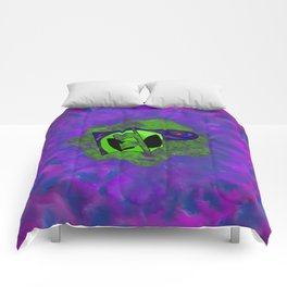 Endless Possibilites Space Rock Logo Comforters
