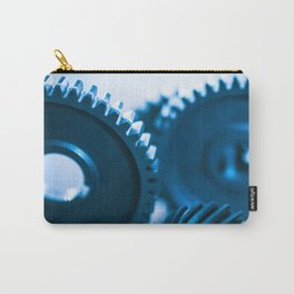mechanical gear for teamwork Carry-All Pouch
