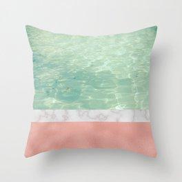 Dip II Throw Pillow