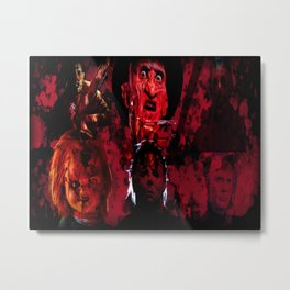 Masters Of All Horrors Metal Print