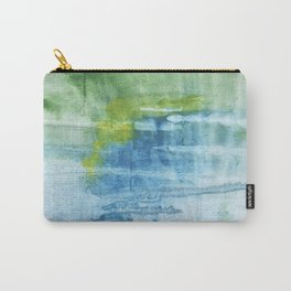 Blue green colored wash drawing Carry-All Pouch