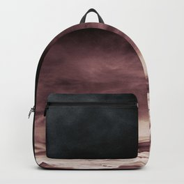 BLACK & PINK & GOLD TOUCHING #1 #abstract #decor #art #society6 Backpack