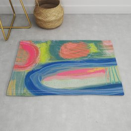Abstract Shelter Rug