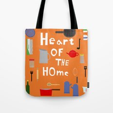 Heart of the Home - Kitchen Tote Bag