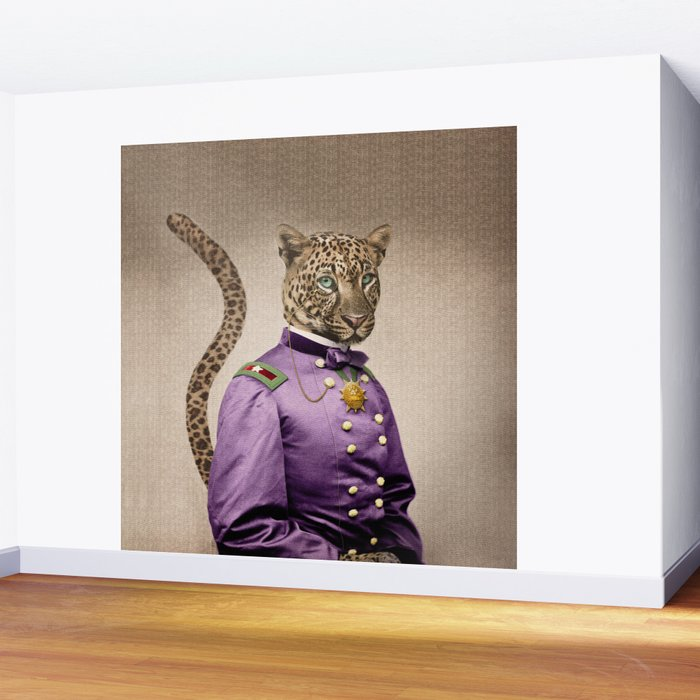 Grand Viceroy Leopold Leopard Wall Mural