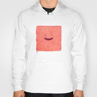 furry Hoodies featuring Furry Square by Flester