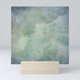 Turquoise Seafoam And Ocean Mini Art Print