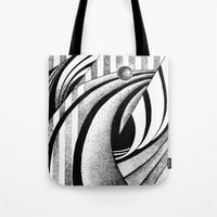 gravity Tote Bags featuring GRAVITY by Fen_A